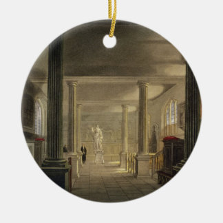 Interior of the Law School, Cambridge, from 'The H Christmas Ornament