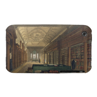 Interior of the Library of Christ Church, illustra iPhone 3 Cases