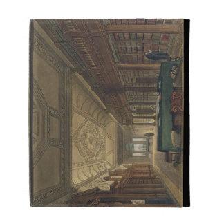 Interior of the Library of Christ Church illustra iPad Case