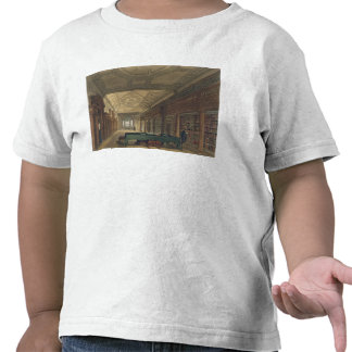 Interior of the Library of Christ Church, illustra Tshirt