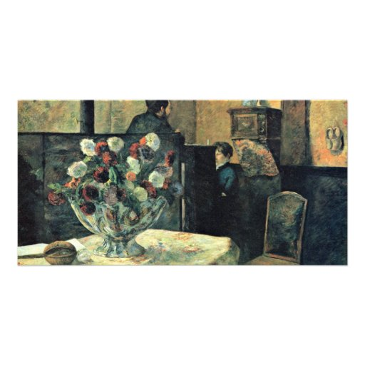 Interior Of The Painter In The Rue Carcel Personalized Photo Card