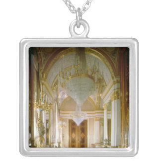 Interior of the Private Apartments Silver Plated Necklace