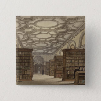 Interior of the Public Library, Cambridge, from 'T 15 Cm Square Badge
