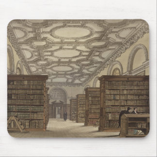 Interior of the Public Library, Cambridge, from 'T Mouse Mat