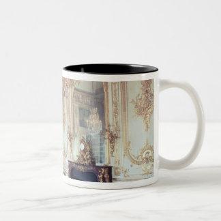 Interior of the Salle du Conseil  1701-55 Two-Tone Coffee Mug
