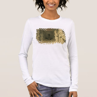 """Interior of the Temple of Abu Simbel, from """"Egypt Long Sleeve T-Shirt"""