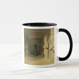 "Interior of the Temple of Abu Simbel, from ""Egypt Mug"