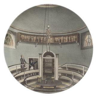 Interior of the Theatre of Anatomy, Cambridge, fro Plate