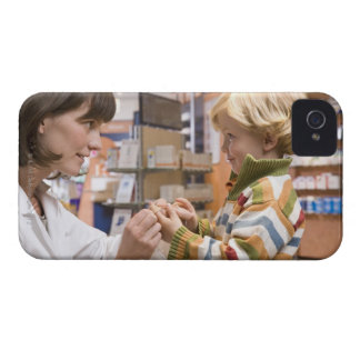 interior shots of a pharmacy iPhone 4 Case-Mate case