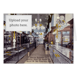Interior Sorensen Co. Jewelry Store Greeting Cards