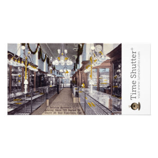 Interior Sorensen Co. Jewelry Store Photo Card