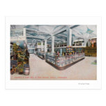 Interior View of Augustine & Kyer Bakery Postcards