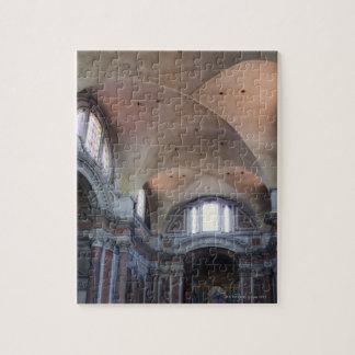 Interior view of Santa Maria degli Angeli in Jigsaw Puzzle