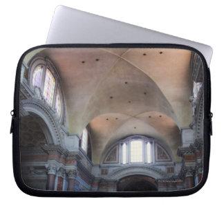 Interior view of Santa Maria degli Angeli in Laptop Sleeve