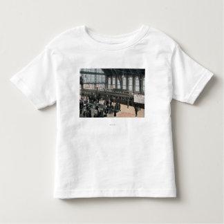 Interior View of Sullivan Square Station Toddler T-Shirt