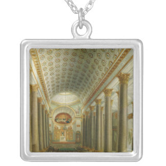 Interior view of the Kazan Cathedral Silver Plated Necklace