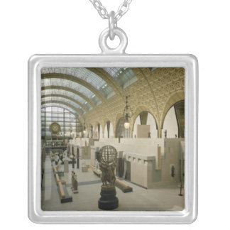 Interior View of the Main Entrance Silver Plated Necklace