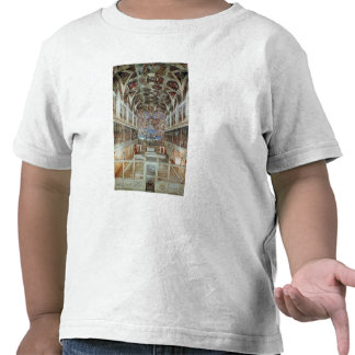 Interior view of the Sistine Chapel Tee Shirt