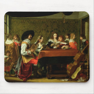 Interior with Musicians and Singers Mouse Pad