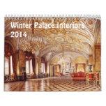 Interiors of Winter Palace 2014 Calendar