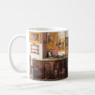Interiors Winter Palace Ukhtomsky Konstantin paint Basic White Mug