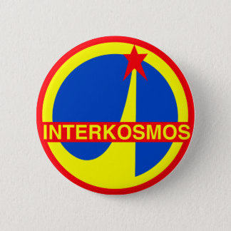 Interkosmos 6 Cm Round Badge