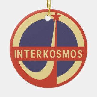 Interkosmos Round Ceramic Decoration