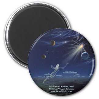 Interlude at Another Level, Interlude at Anothe... 6 Cm Round Magnet