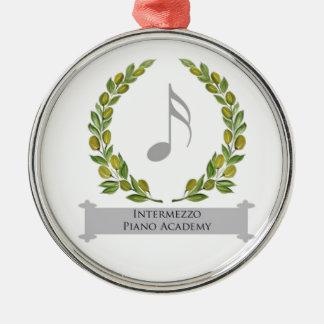 Intermezzo Piano Academy Christmas Tree Ornament