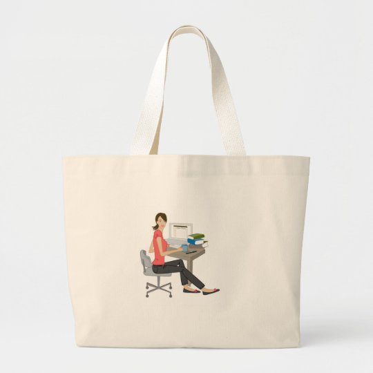 Intern Memo Large Tote Bag