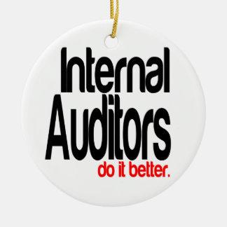 Internal Auditors Do It Better Christmas Ornament