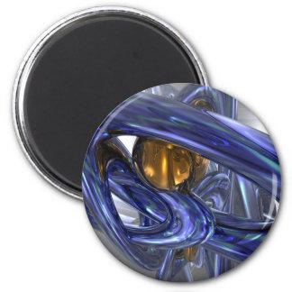 Internal Bliss Abstract Magnet