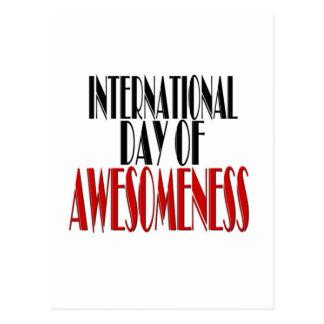 Internatioal Day of Awesomeness Postcard