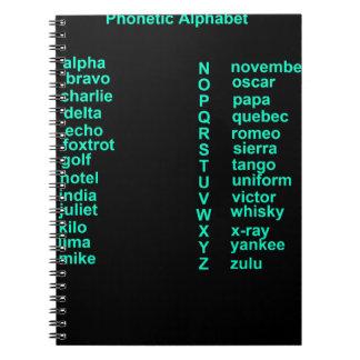 International Alphabet Notebooks
