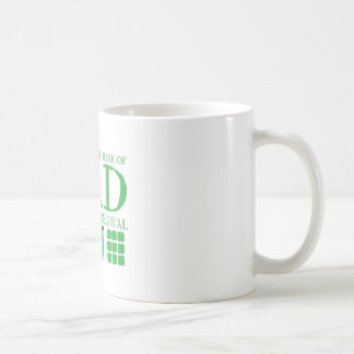 International BANK of DAD (Cash withdrawal here) Coffee Mug