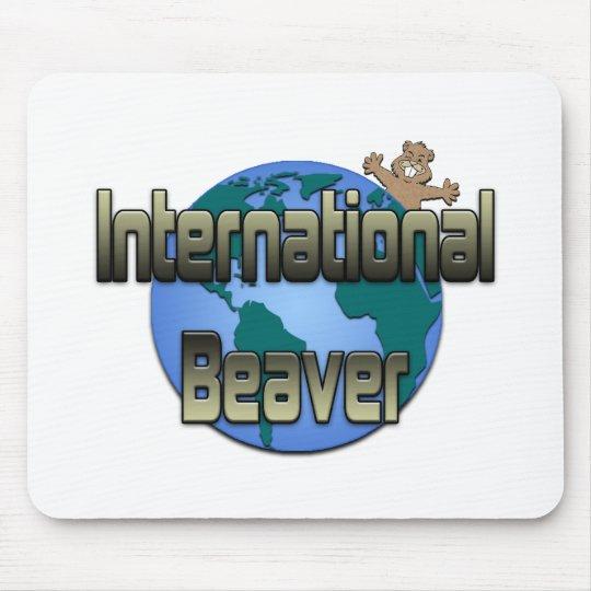 International Beaver Mouse Pad