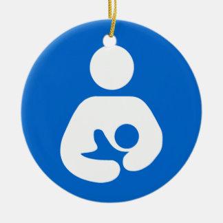 International Breastfeeding Symbol Christmas Ornament