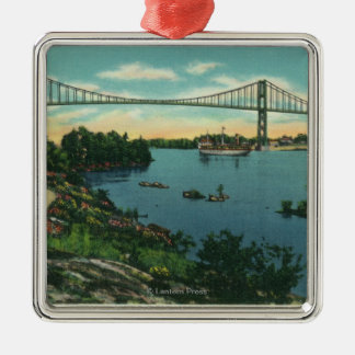 International Bridge American Span View # 2 Christmas Ornament
