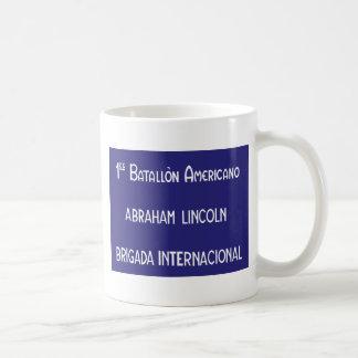 International Brigades Abraham Lincoln 1st Coffee Mug