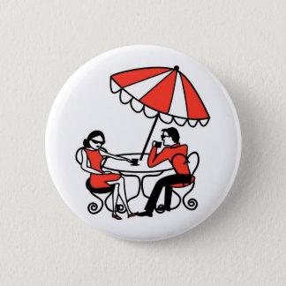 International Cafe 6 Cm Round Badge