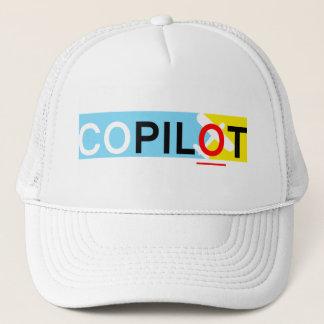 International Co-Pilot Trucker Hat