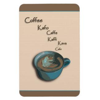 International Coffee Cup Magnet