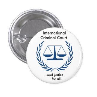 International Criminal Court Series Pinback Button