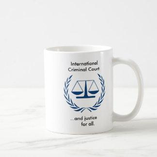 International Criminal Court Series Basic White Mug