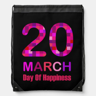 International Day of Happiness Backpack