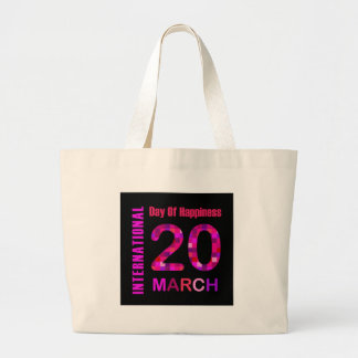 International Day of Happiness- Commemorative Day Jumbo Tote Bag