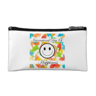 International Day of Happiness- Commemorative Day Makeup Bag
