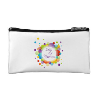 International Day of Happiness Cosmetic Bag