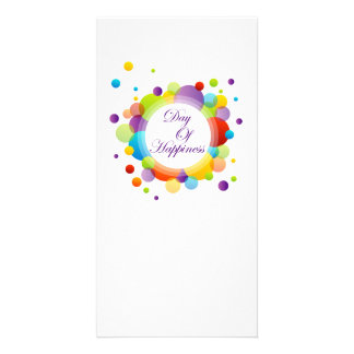 International Day of Happiness Photo Card Template