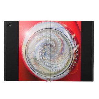 International Fire Truck Headlight Twirl Design iPad Air Covers